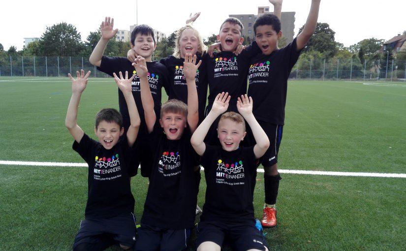 Fußballturnier der Mainzer Grundschulen