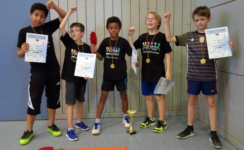 Grundschulmeisterschaften Tischtennis