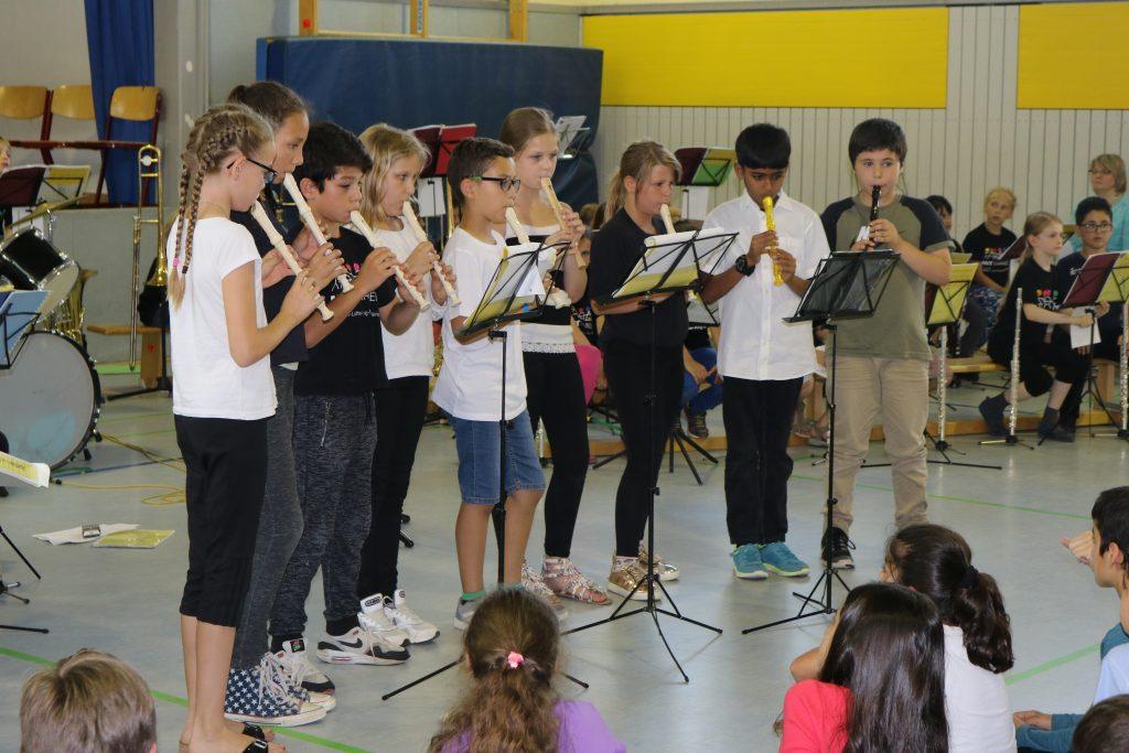 Flötenkinder der 4