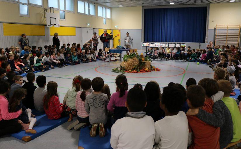 Erntedankfest in der Dr. Martin-Luther-King-Grundschule am 25.10.19