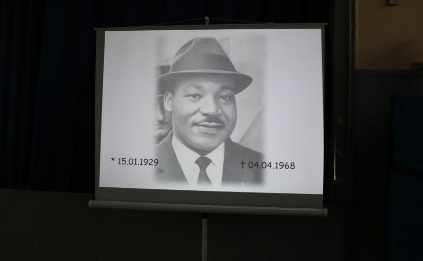 Geburtstag von Dr. Martin Luther King am 15. Januar